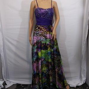 deb Formal Party Dress Size 7/8 Corset Back